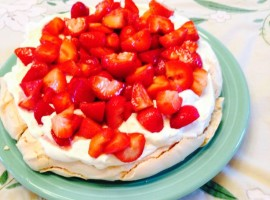 strawberry pav